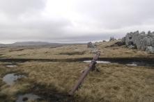 1968 Argentine 105mm gun,Wireless Ridge
