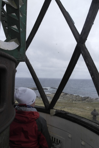 The view East from the lighthouse. Next stop, Africa!