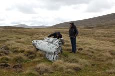 Marek examines the jet engine