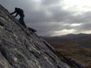 The summit slabs of Mt William