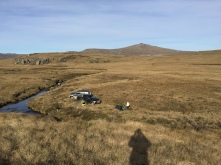 The campsite, eventually reached