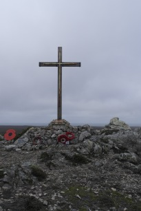 19 men died aboard HMS Coventry, 11 miles North of this spot
