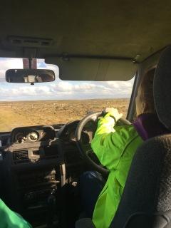 Jess' tour driving