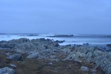 Cape Pembroke seas, bit rough