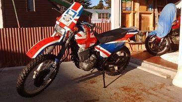 My bike Yam xt600
