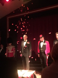 The Poppy Ball ceremony