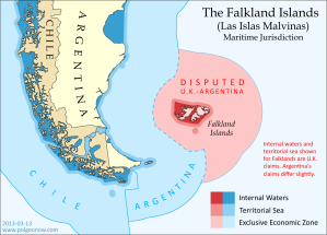 Image result for argentina falklands map