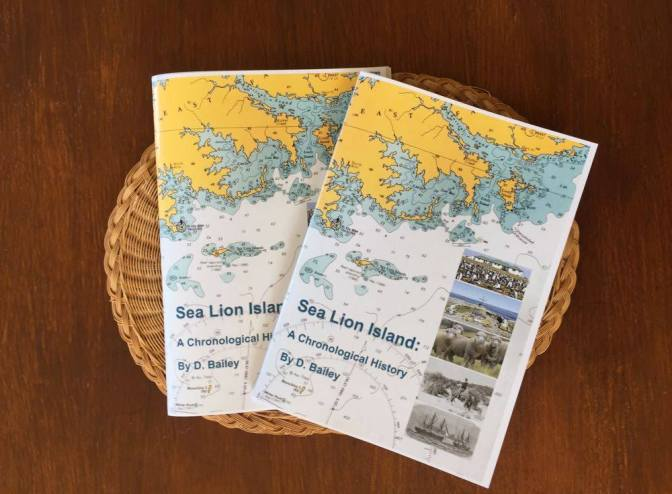 Sea Lion Booklet