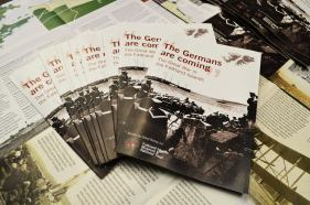 The Germans are coming leaflet
